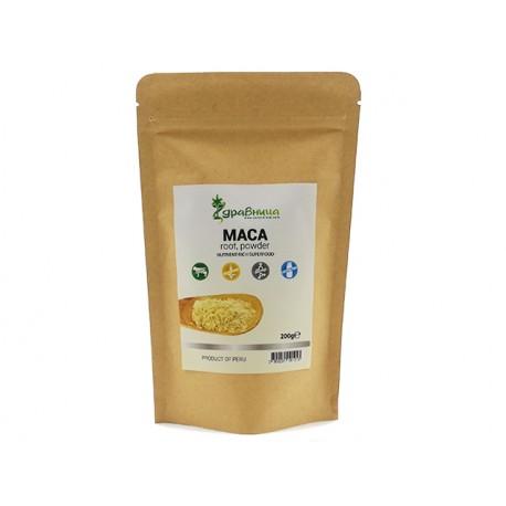 Maca powder, raw, Zdravnitza, 200 g