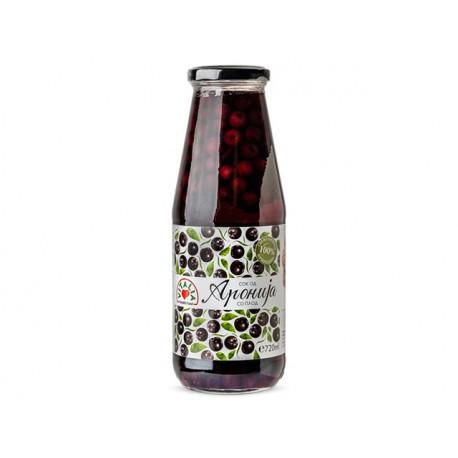 Aronia juice, from fresh fruits, Vitalia, 720 ml