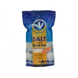 Морска сол от Мъртво море, на гранули, изсушена, 500 гр.