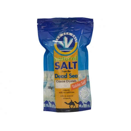 Natural Salt from Dead Sea, Coarse Crystals, 500 g