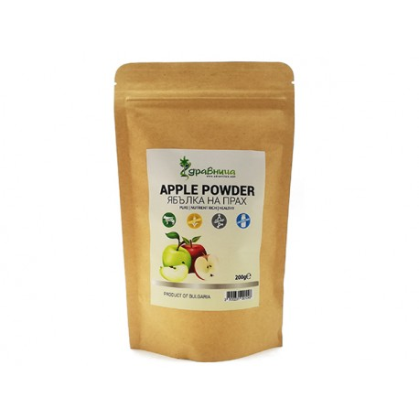 Apple powder, pure, Zdravnitza, 150 g