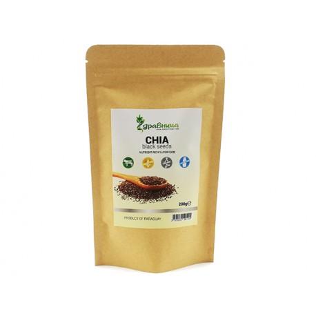 Chia, seeds, Zdravnitza, 200 g
