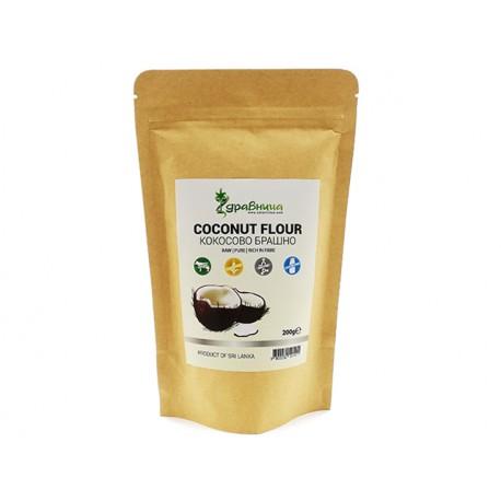 Coconut flour, pure, Zdravnitza, 200 g