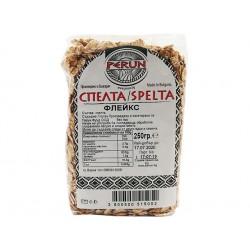 Spelt (Dinkel) - flakes, Perun, 250 g