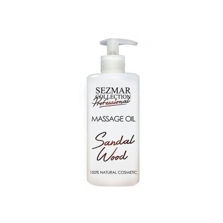 Sandal Wood Massage Oil, professional, Sezmar, 500 ml