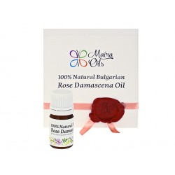 Natural Bulgarian Rose Damascena oil, Maira, 1 ml