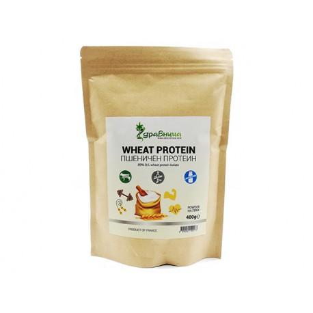 Пшеничен протеин, на прах, Здравница, 400 гр.