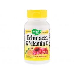 Ехинацея и Витамин С, Нейчърс Уей, 100 капсули