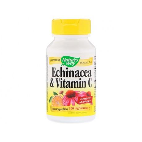 Echinacea and Vitamin C, Nature's Way, 100 capsules