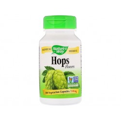 Hops (flowers), Nature's Way, 100 capsules