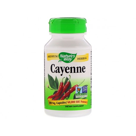 Cayenne, Nature's Way, 100 capsules