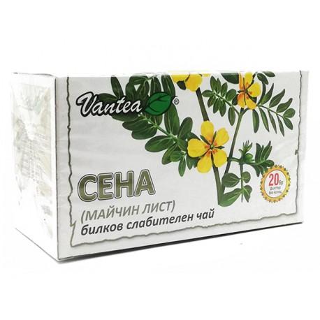 Senna, herbal laxative tea, Vantea, 20 filter bags