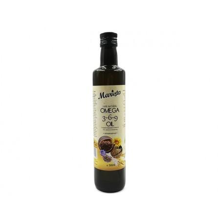 Омега 3-6-9 олио - лен, сусам и слънчоглед, Маристо, 500 мл.