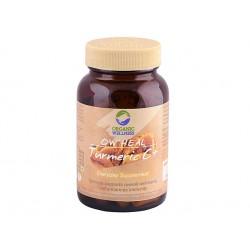 Turmeric C+, Organic Wellness, 90 capsules