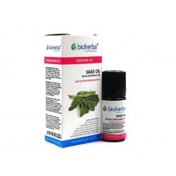 Sage, essential oil, Bioherba, 5 ml