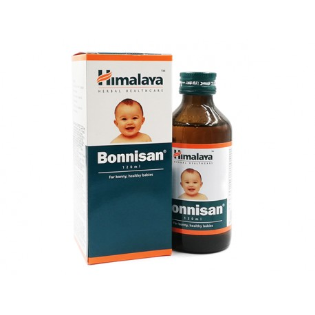 Bonnisan syrup, for bonny and healthy babies, Himalaya, 120 ml