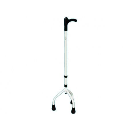 Aluminum, adjustable walking stick, triple legs