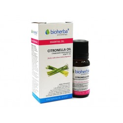 Citronella, essential oil, Bioherba, 10 ml