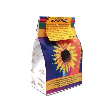 Коприва, изсушени листа, семена, или корен, Билкария, 50 гр.