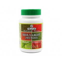 Шилажит (Мумио), за здрав организъм, Чарак, 50 таблетки