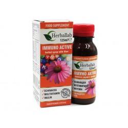 Имуно Актив, сироп с ехинацея и 12 витамина, 125 мл.