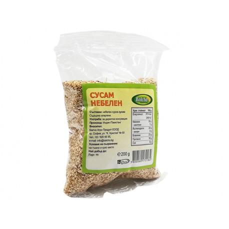 Sesame seeds, whole grain, Balcho, 200 g