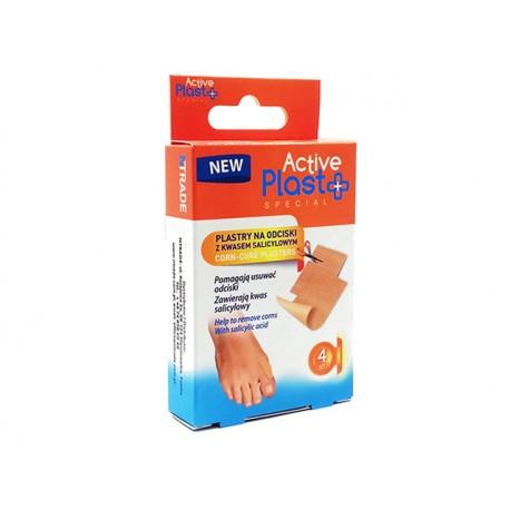 Corn-Cure plasters, ActivePlast, 4 plasters