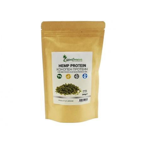 Hemp protein powder, Zdravnitza, 200 g
