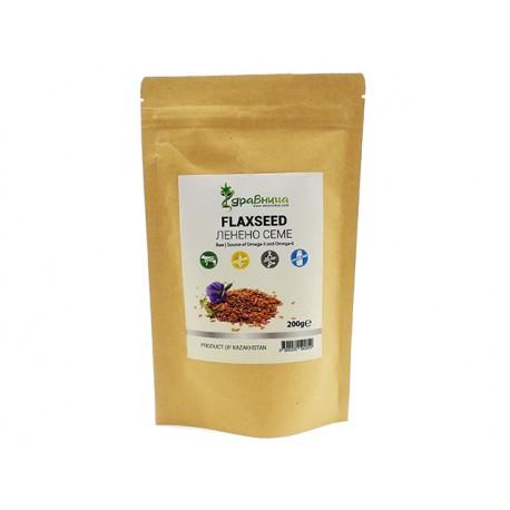 Flaxseed, raw, Zdravnitza, 200 g