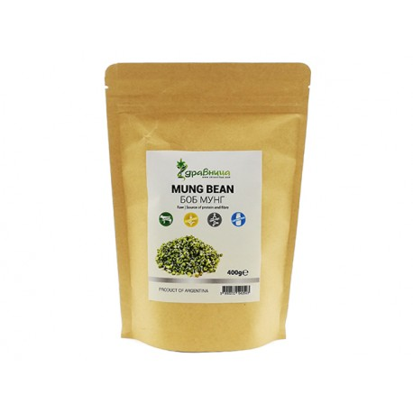 Mung bean, natural, Zdravnitza, 400 g