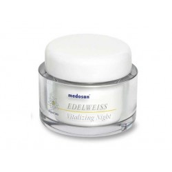 Edelweiss, vitalizing night cream, Medosan, 50 ml