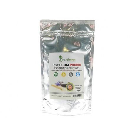 Psyllium ProBio, psyllium, probiotic and inulin, Zdravnitza, 150 g