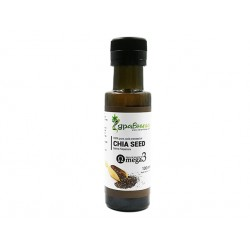 Chia seed oil, cold pressed, Zdravnitza, 100 ml