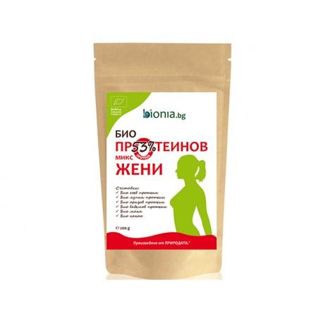 БИО Протеинов микс за жени, Биониа, 200 гр.