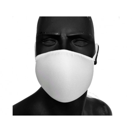 Face mask, three-layer, reusable, 1 pc