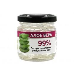 Алое Вера (99%) гел при проблемна и раздразнена кожа, Радика, 100 мл.