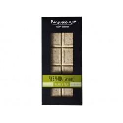 Organic White chocolate - Savory, Benjamissimo, 60 g