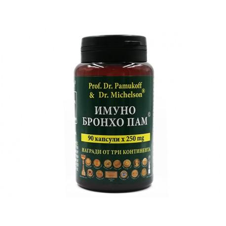 Immuno Broncho Pam, Dr. Pamukoff, 90 capsules