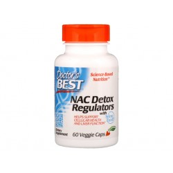 Nac Detox Regulators, Doctor's Best, 60 veggie caps