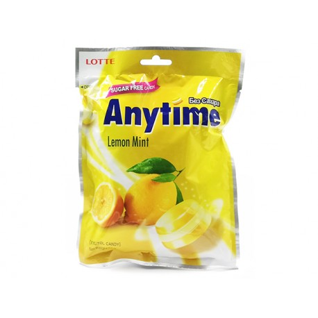 Anytime Xylitol Candy, lemon mint, sugar free, 74 g