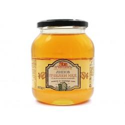 Natural Bulgarian Linden Honey, Pchelin, 900 g
