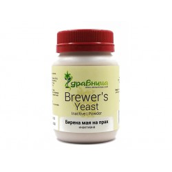 Brewer's yeast powder, inactive, Zdravnitza, 130 g
