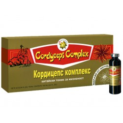 Cordyceps Complex, Chinese tonic for vitality, TNT21, 10 vials