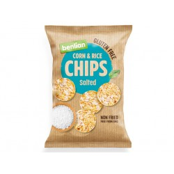 Corn and Rice Chips - classic, Benlian, 50 g