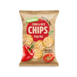 Corn and Rice Chips - paprika, Benlian, 50 g