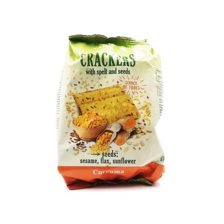 Крекери с лимец, семена и куркума, Ями Йо, 110 гр.