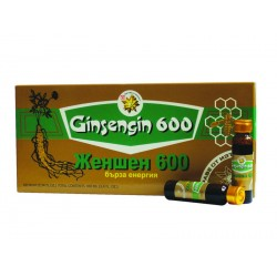 Ginseng 600 - fast energy (10 vials)