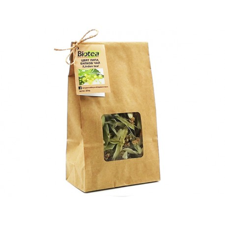 Linden - flower, pure herbal tea, Biotea, 20 g