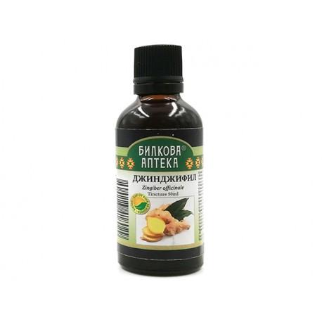 Ginger - tincture, immunity and digestion, Bioherba, 50 ml