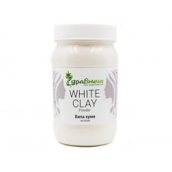 Natural White Clay, powder, Zdravnitza, 380 g